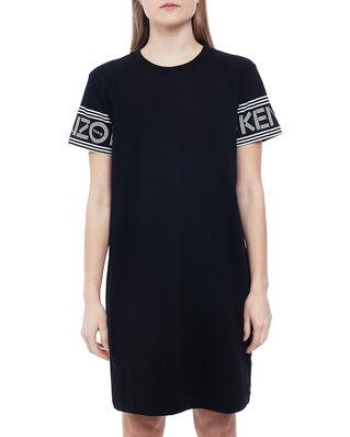 Kenzo Kenzo Logo T-shirt Dress Black