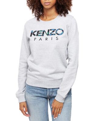 Kenzo KENZO Paris 'Peonie' Sweatshirt Pale Grey