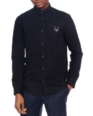 Kenzo Tiger Casual Shirt Black