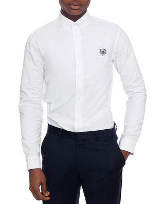 Kenzo Tiger Casual Shirt White