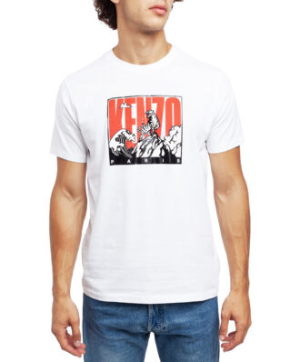 Kenzo 'Tiger Mountain' T-shirt White