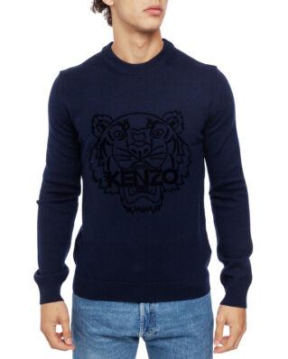 Kenzo Tiger Wool Jumper Navy Blue