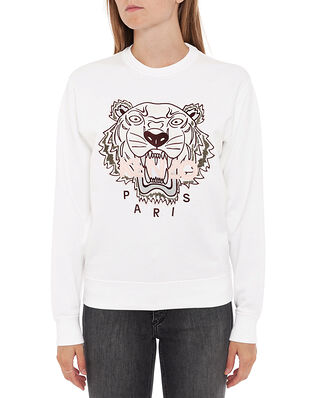Kenzo Classic Sweatshirt Tiger White
