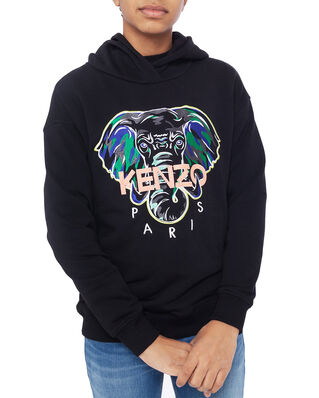 Kenzo Disco Jungle Jb Hoodie Black