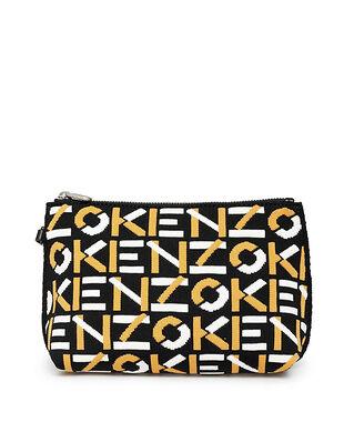 Kenzo Gusset Pouch Golden Yellow