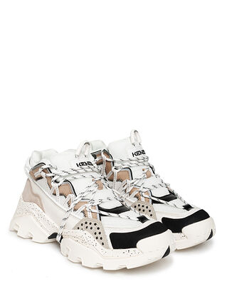Kenzo Inka Low Top Sneakers Pale Grey