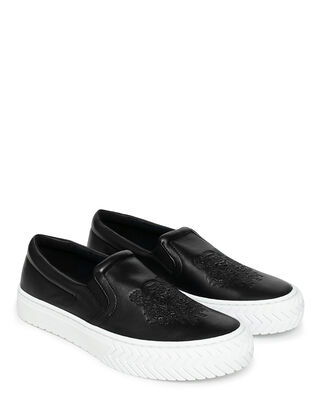 Kenzo K-Skate Slip On Sneakers Black