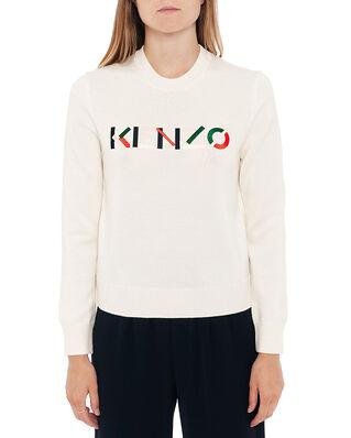 Kenzo Kenzo Logo Jumper Ecru