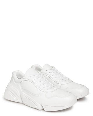 Kenzo Kross Lace Up Sneakers White