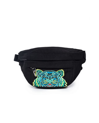 Kenzo Mini 'Kampus' Tiger Belt Bag Black