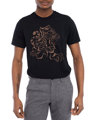 Kenzo Seasonal Logo Classic T-shirt Black
