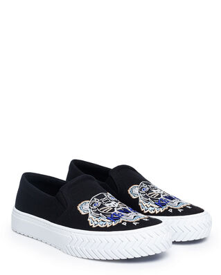 Kenzo Slip-on K-Skate Tiger Shoes Black