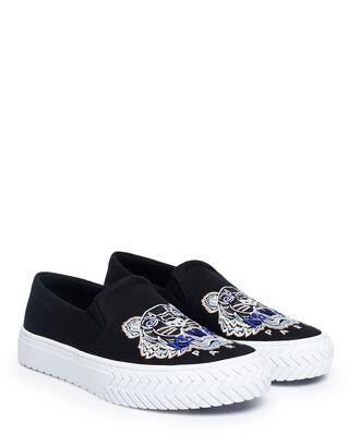 Kenzo Slip-on K-Skate Tiger Shoes Black