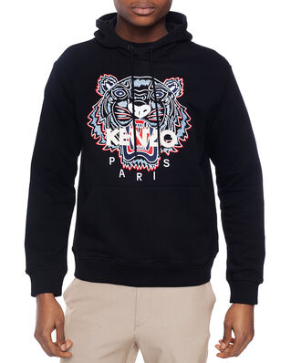 Kenzo Tiger Hooded Sweatshirt Black