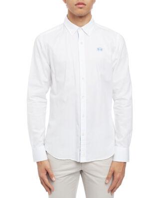 La Martina Man Oxford Easy Care Shirt Optic White