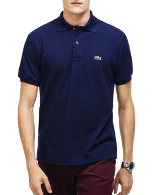 Lacoste L1212 Pique Classic Fit Navy Blue
