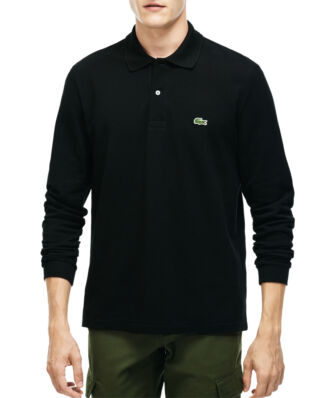 Lacoste L1312 L/S Polo Shirt Black