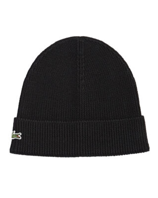 Lacoste RB3502 Wool Beanie Black