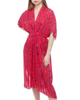 LaLa Berlin Dress Jasmin Flowerspray Barberry