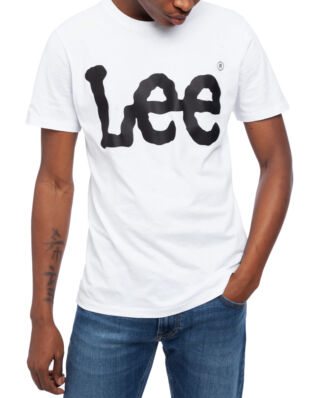 Lee Logo Tee White