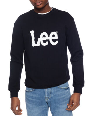Lee Basic Crew Logo Sws Black