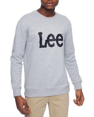 Lee Basic Crew Logo Sws Grey Mele
