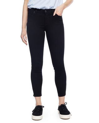 Lee Scarlett Cropped Black Rinse