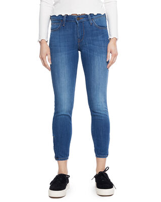 Lee Scarlett Cropped High Blue