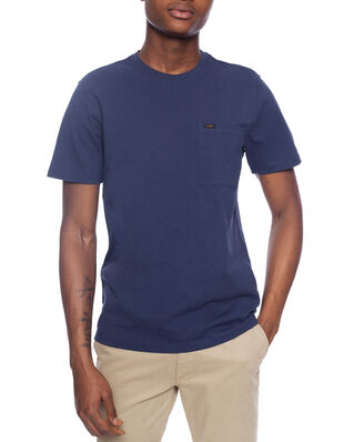 Lee Ss Pocket Tee Dark Navy