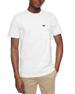 Lee Ss Pocket Tee Ecru
