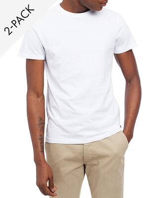 Lee Twin Pack Crew Tee White/White