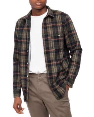 Legends Odessa Wool Shirt Dark Check