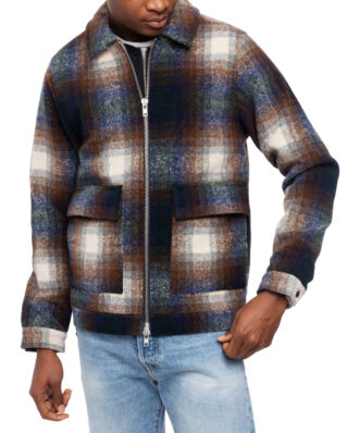 Legends Ortega Jacket Brown Check