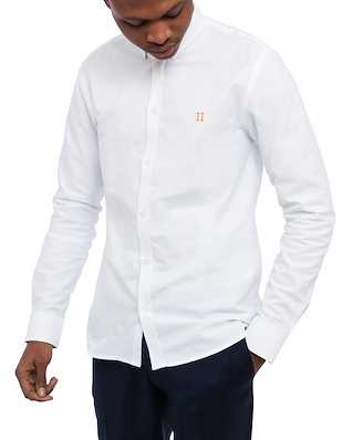 Les Deux Oliver Oxford Shirt White