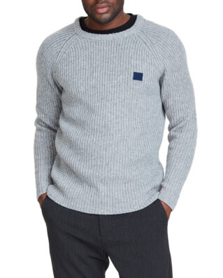 Les Deux Piece Wool Knit Grey Melange