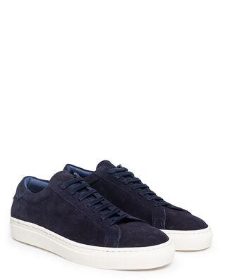 Les Deux Calle Suede Shoe Navy