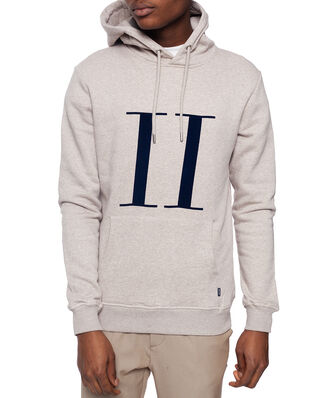 Les Deux Encore Hoodie Light Brown Melange/Navy