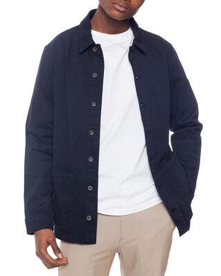Les Deux Pascal Shirt Jacket Dark Navy