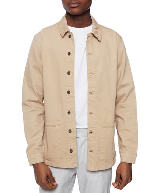 Les Deux Pascal Shirt Jacket Light Brown Insence