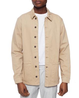 Les Deux Pascal Shirt Jacket Light Brown Insence