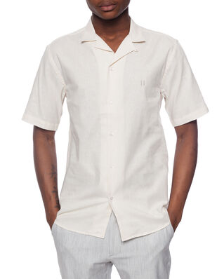 Les Deux Simon Linen Shirt SS Off White