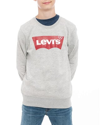 Levis Junior Batwing Crewneck Grey Heather