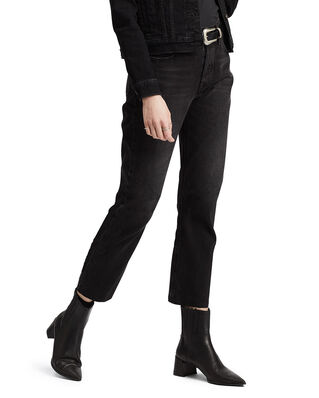 Levis 501 Crop Black Heart Blacks