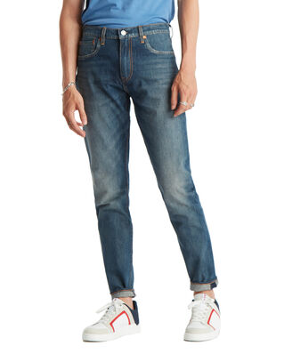 Levis 512 Slim Taper Cioccolato Cool Dark Indigo - Worn In