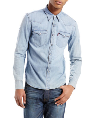 Levis Barstow western shirt red cast stone