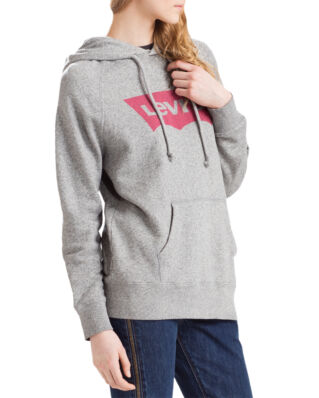 Levis Classic Logo Hoodie Grey Batwing