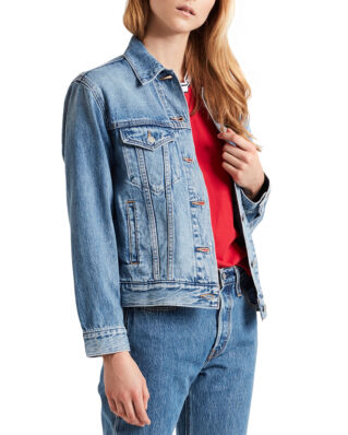 Levis Exboyfriend Trucker Soft As Butter Mid