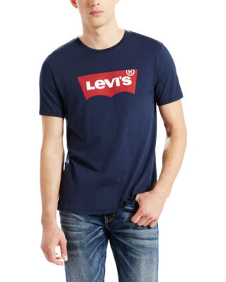 Levis Graphic Set-in Neck Housemark Blue