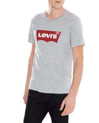 Levis Graphic Set-in Neck Housemark Grey