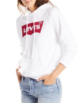 Levis Graphic Sport Hoodie Batwing Hoodie White